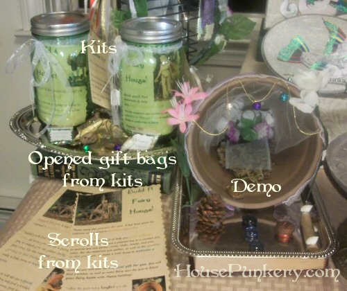 Demo of my fairy house kit, all assembled and loverly