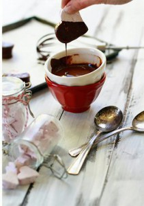 Chocolate Raspberry Vanilla Bean Marshmallows Photo from Good Life Eats