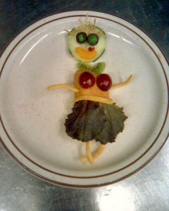 Chuck-a-Rama Food Art  Photo by Woody Thrower on Flikr