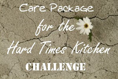 Care Package for the Hard Times Kitchen Challenge from The More With Less Mom
