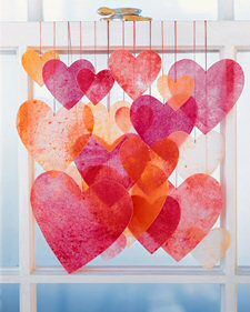 Crayon Hearts Photo from MarthaStewart.com