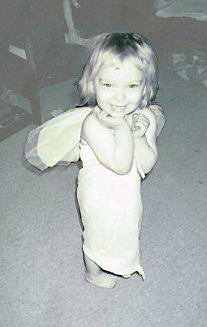 Linda (kid #2) when she was little