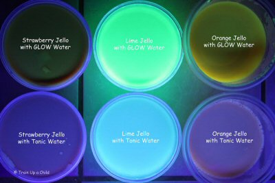 Glow jello