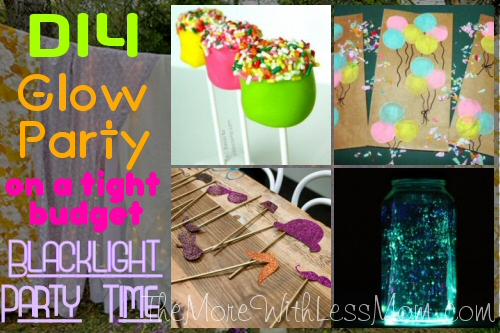 Glow Party Teen Birthday Blacklight Party Time