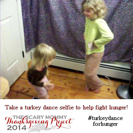 We did the turkey dance!
