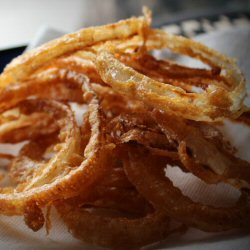 Sourdough battered onion rings