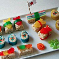 Sushi candy recipe