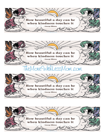 image about Kindness Cards Printable called 25 Spring Functions of Kindness for Your Children with Printable and