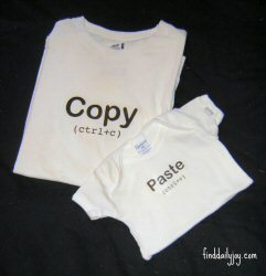 Father's Day Copy & Paste Shirt {Free Printable} from Find Daily Joy