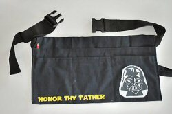 Darth Vader Tool belt from Clumsy Crafter