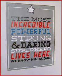Printables for Fathers Day from Today's Creative Blog