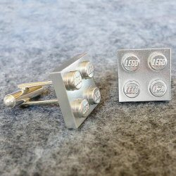 Delight Dorky Dads this Father's Day! – Lego Cuff-Links Tutorial From Dream A Little Bigger