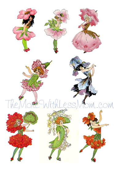 Small Flower Fairies PDF