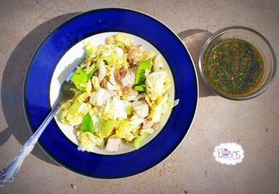 Fruit Sweetened Chinese Chicken Salad