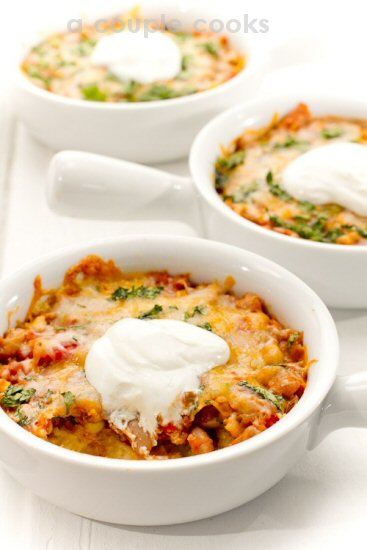 Vegetable Tamale Pies