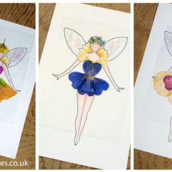 Flower Fairy Fashions