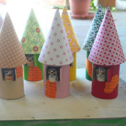 Fairy House Village