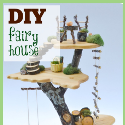 DIY Toy Tree House
