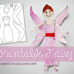 Fairy Paper Doll