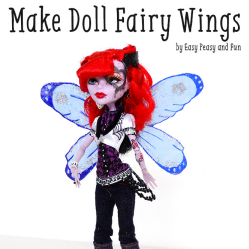 Make Doll Fairy Wings