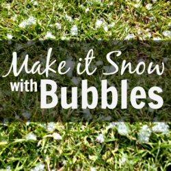 Snow Bubbles