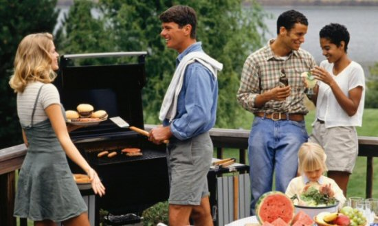 Cookout with friends