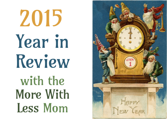 2015 Year in Review from the More With Less Mom