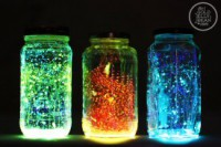 Making Glow Jars from The Gold Jellybean