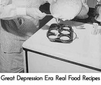 Great Depression Era Real Food Recipes from Lil Moo Creations
