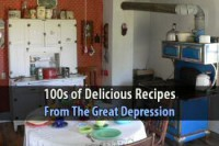 100s of Delicious Recipes From The Great Depression from Urban Survival Site