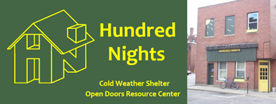 Hundred Nights homeless shelter in Keene NH