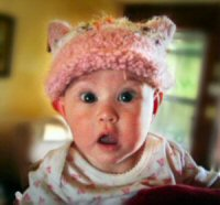 Hatted baby