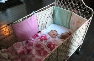 Bedding sets- crib with bumpers