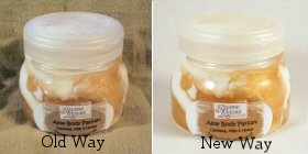 Item photo old way versus new way