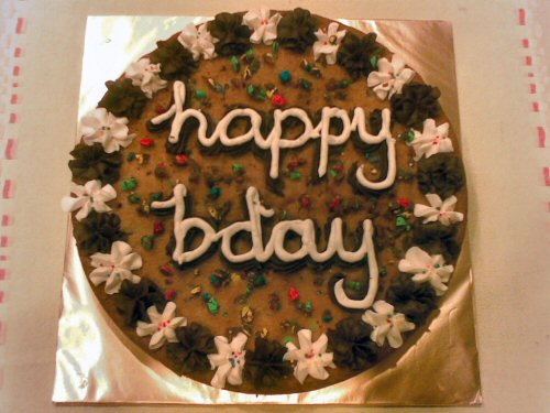 Cookie Cake Photo by cup.cakers on flikr