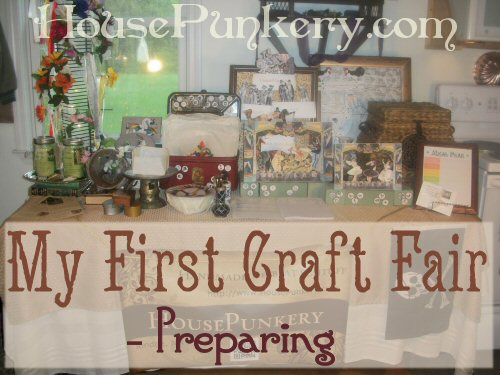 Preparing for My First Craft Fair from The More With Less Mom