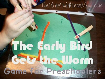 Early Bird Gets the Worm Game