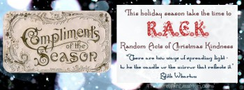 Random Acts of Christmas Kindness Facebook Cover Graphic