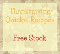 Free Stock Recipe