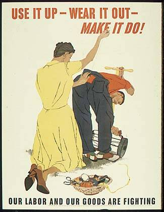 Use It Up WWII Poster