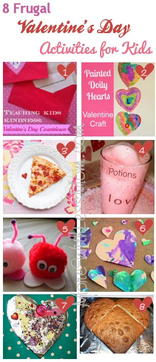 8 Frugal Valentines Day Activities for Kids